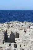 Sea cliff Royalty Free Stock Photos