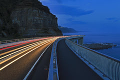 Sea Cliff Br Dark Blue Lights Royalty Free Stock Image