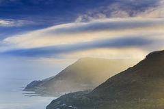 Sea Cliff Coast Bald Hill 85mm Royalty Free Stock Photography
