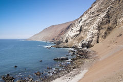 Sea cliffs Royalty Free Stock Photos