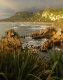 Sea cliffs Stock Image