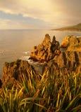 Sea cliffs Stock Images