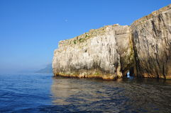 Sea cliffs Royalty Free Stock Image