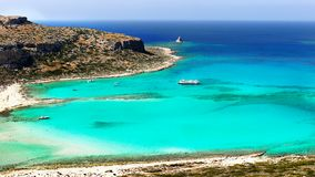 Sea Cliffs, Coast Landscape Beaches, Greek Islands, Crete,. Scenic sea cliffs, coast landscape and beaches, Greek Islands. Crete, Greece. Europe stock images