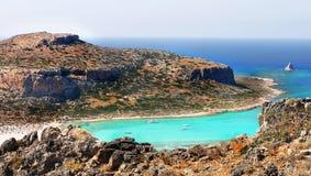 Sea Cliffs, Coast Landscape Beaches, Greek Islands, Crete,. Scenic sea cliffs, coast landscape and beaches, Greek Islands. Crete, Greece. Europe stock photography