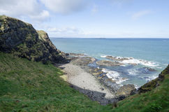 Sea cliffs, Northern Ireland Royalty Free Stock Images
