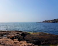 By the sea. Close to water Royalty Free Stock Photography