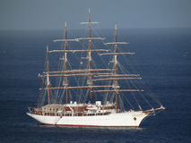 Sea cloud arriving at port elizabeth Stock Photography