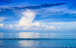 Sea and cloud Stock Photography