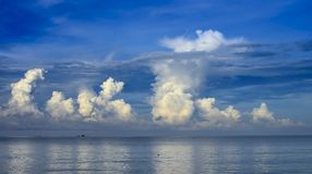 Sea and cloud Royalty Free Stock Image