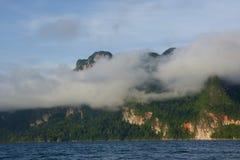 Sea cloud mountain view Stock Photography