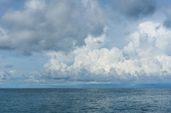 Sea and cloud Stock Photo