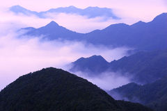 The sea of clouds Royalty Free Stock Images
