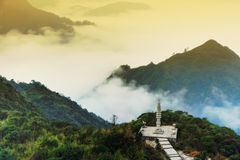 The sea of clouds Stock Photography
