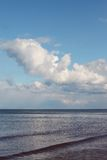 Sea and clouds. Royalty Free Stock Photography