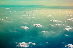 Sea of clouds Stock Photography