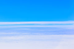 Sea of ​​clouds Royalty Free Stock Photography