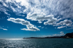 Sea and clouds from Mala Beach Stock Photos