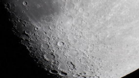 Sea of clouds (Mare Nubium) Crater Tycho stock video footage