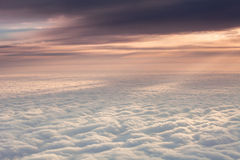 The sea of clouds Royalty Free Stock Photo