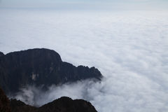 The sea of clouds Stock Images