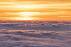 Sea of Clouds Stock Photos