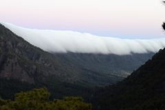 Sea of clouds Royalty Free Stock Photos