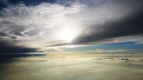 Sea Clouds Photography during Daytime Royalty Free Stock Image