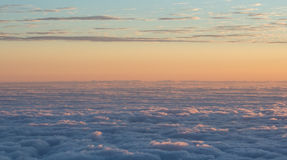 Sea of clouds Royalty Free Stock Photography