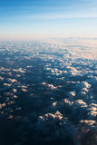 Sea of clouds with sunbeam in the morning Royalty Free Stock Photo