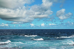 Sea and clouds Royalty Free Stock Photography