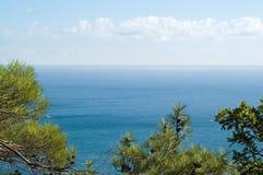 Sea coast. On Black sea Stock Photography