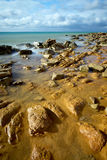Sea coast. Coast of the Black sea in Ukraine Stock Image