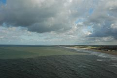 Sea coast. Haage North Sea coast Stock Photo