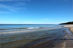 Sea coast. In Poland Royalty Free Stock Photos