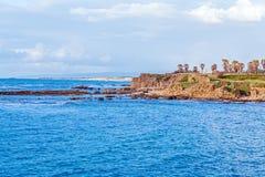 Free Sea Coast And Ruins Of Caesarea Maritima, Israel Stock Photos - 69949893