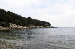 Sea and coast in Bandol, France Stock Photo