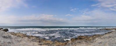 Sea coast. Sea beach in Tzarevo,Bulgaria Stock Photography