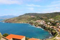 Sea coast of Sardinia, Italy Royalty Free Stock Photos