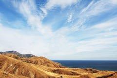 Sea coast in Crimea Royalty Free Stock Photo