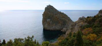 Sea coast in Crimea Royalty Free Stock Images