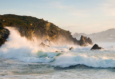 Sea and coast in Galicia Royalty Free Stock Photography