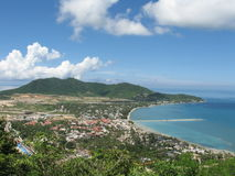 Sea coast on Hainan island Stock Images
