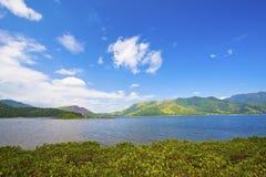 Sea coast landscape in Hong Kong Stock Photography
