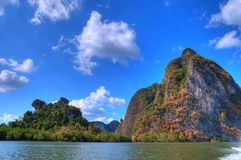 Sea coast landscape near Phuket Stock Photo
