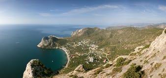 Sea coast landscape Stock Image