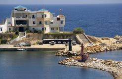 Sea coast in Monastir, Tunisia in Africa Stock Images