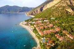 Sea coast near Oludeniz. Stock Photos
