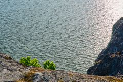 Sea coast near Turku, Finland. royalty free stock photos