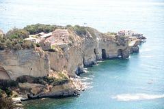 Sea and coast of Posillipo, Stock Images